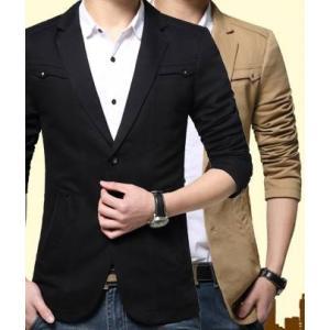 เสื้อสูทลำลองแฟชั่นผู้ชายแต่งอกซ้ายขวา Size No.35 37 39 41 43
