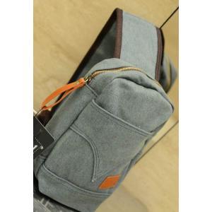 กระเป๋าสะพายข้าง คาดอก size S แบบกระเป่ายีนส์ สีฟ้า