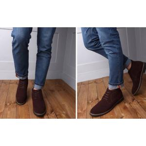 รองเท้าหนังกลับหุ้มข้อชาย ทรงอังกฤษ วินเทจ คลาสสิค สี ดำ น้ำตาล No.38-44