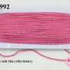 เชือกเกลียว สีชมพูเข้ม #48 3มิล (1พับ/36หลา)