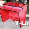 """โต๊ะคอมพิวเตอร์ร้านเกมส์ T-Line """"เมลามีน"""" X10"""