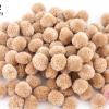 ปอมปอมไหมพรม สีน้ำตาลอ่อน (พาลเทล) 3ซม. (100 ลูก)