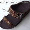 รองเท้าfitflop Flare slide 2-Tone Brown