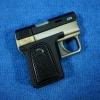ไฟแช็คปืนออโต้สีทอง-ดำ