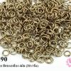 ห่วงทำสร้อย สีทองเหลือง 4มิล (20 กรัม)