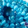 หินตาแมวเจียร สีฟ้า 12 มิล (จีน) (1เส้น)
