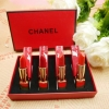 Chanel Matte Lipstick Set (Red Box) เซทลิปชาแนลเนื้อแมท 4 สี (งานมิลเลอร์) ราคาปลีก 199 บาท / ราคาส่ง 159.20 บาท