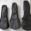 กระเป๋า Ukulele สีดำ Black บุฟองน้ำ ขนาด Soprano Concert Tenor