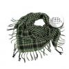 ผ้าพันคอชีมัค Shemagh สีเขียว