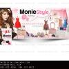 ผลงานออกแบบFan Page สวยๆ| Facebook (แฟนเพจ)//Monie Style//สนใจ ตกแต่งFanpage,รับทำFanpage,ออกแบบFanpage,รับแต่งแฟนเพจราคาถูก ติดต่อ 085-022-4266