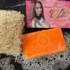 สบู่แครอท ไวท์ออร่า White aura miracle carrot soap ราคาปลีก 80 บาท / ราคาส่ง 64 บาท