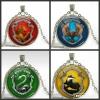 Set x4 Gryffindor Slytherin Hufflepuff Revenclaw Necklace