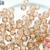 คริสตัลสวารอฟสกี้ (SWAROVSKI) สีน้ำตาล(221) 4มิล(100เม็ด)