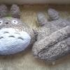 พร้อมส่ง :: หมอนรัดเบาะรถยนต์ Totoro ขนปุย
