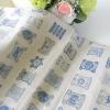 ผ้าคออตอนลินิน ญี่ปุ่น ลายแกนพันด้สยกระดาษ เนื้อหนา
