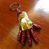 พวงกุญแจ ถุงมือIron man สีแดง