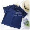 เสื้อแฟชั่นผ้าฮานาโกะ (สีกรมท่า) รุ่นปกแหลม แบบสวยเก๋ สีพื้น แมทง่าย ใส่สบาย ไม่มีเอ้าท์