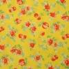 คอตตอนญี่ปุ่นลาpดอกไม้ รุ่น Old New Fabric Collection สีเหลือง น่ารักค่ะ