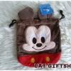 พร้อมส่ง :: กระเป๋าหูรูด Mickey Mouse 18x18 cm