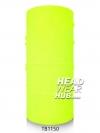 ผ้าโพกหัว ผ้าบัฟ ผ้าคาดผม TB1150 สีเหลืองสะท้อนแสง