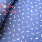 คอตตอนญี่ปุ่น เนื้อดีโทนสีน้ำเงิน เหมาะสำหรับงานผ้าทุกชนิด ตัด กระโปรง ทำกระเป๋า ปลอกหมอน และอื่นๆ