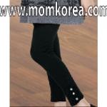 Pk0117 กางเกงคนท้อง สีดำ ขายาว สามารถเลื่อนเอวได้ เนื้อผ้าดีมากๆ