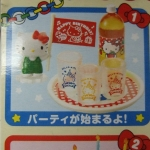 Re-ment Sanrio miniature Hello Kitty Birthday