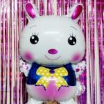 ลูกโป่งฟลอย์ กระต่ายน้อยน่ารัก - Cute Rabbit Foil Balloon / Item No. TL-B043