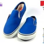 รองเท้าผ้าใบ MASHARE (มาแชร์) รุ่น V-5 สีน้ำเงิน เบอร์ 37-44