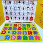 Jigsaw Alphabet