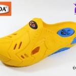 รองเท้าหัวปิด ADDA Iron Mask รหัส 52301 สีเหลือง เบอร์ 7-10