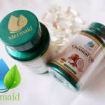 น้ำมันมะพร้าวสกัดเย็น Coconut oil by Mermaid ราคาปลีก 270 บาท / ราคาส่ง 216 บาท