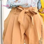 Baby Girl Shot Pant {Brown}