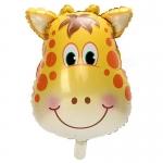 ลูกโป่งฟลอย์ หน้ายีราฟ - Giraffe Face Foil Balloon / Item No. TL-B044