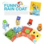 Kids Funny Raincoat