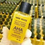 AHA white หัวเชื้อเร่งขาว by MIMI White AHA สูตรออริจินัล ราคาปลีก 45 บาท / ราคาส่ง36 บาท