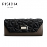 กระเป๋าแบรนด์เนม PISIDIA รุ่น SEVILLA สีดำ-กากี (ส่งฟรี EMS)