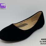 Angelina แองเจลิน่า รหัส JL6916-1C สีดำกำมะหยี่ เบอร์ 36-40
