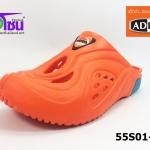 รองเท้า adda friends แอ็ดด๊าเฟรนด์เปิดส้น รุ่น 55S01-M1 สีส้ม เบอร์ 7-10