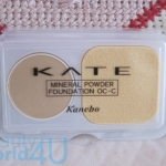 kate mineral powder foundation OC-C 0.9 g. (ขนาดทดลอง)