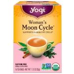 ชาสำหรับสตรีประจำเดือนมาไม่ปกติ (Moon Cycle Tea) YOGI กล่องมีรอยยับ (Exp.12/2019)