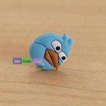 Plugy Earphone Jack ลาย Angry Bird Blue Splitters : สีฟ้า PA0034