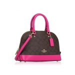 COACH F58295 MINI SIERRA SATCHEL IN SIGNATURE