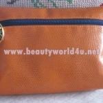 กระเป๋าเครื่องสำอาง estee สีส้ม