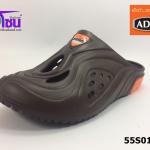 รองเท้า adda friends แอ็ดด๊าเฟรนด์เปิดส้น รุ่น 55S01-M1 สีน้ำตาล เบอร์ 7-10