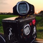 นาฬิกาสุขภาพวัดตรวจสอบอัตราการเต้นหัวใจ วัดแคลอรี่ Pulse Heart Rate Monitor Stop Watch Calorie Counter Exercise Touch Sensor TM สำเนา