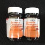 Vistra Acerola Cherry 1000 mg. ราคาพิเศษ 45 เม็ด X 2 ขวด
