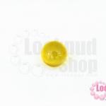 เพชรพญานาคหรือมณีใต้น้ำ กลม ไม่มีรู สีเหลือง 10มิล(1ชิ้น)
