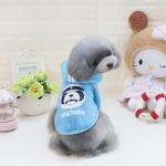 เสื้อhood dogbabyฟ้าไซด์ M L XL XXL