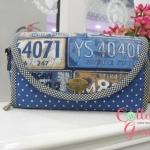 (Made to Order) กระเป๋าสตางค์ ทรีอินวัน เป็นทั้งกระเป๋าเงินกระเป๋าสะพาย และกระเป๋าถือ สายสะพายถอดได้ ครบจบที่เดียว